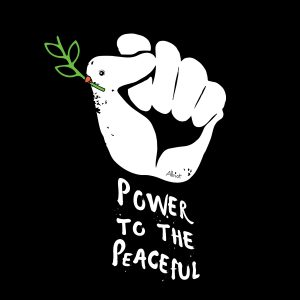 power-peaceful-black