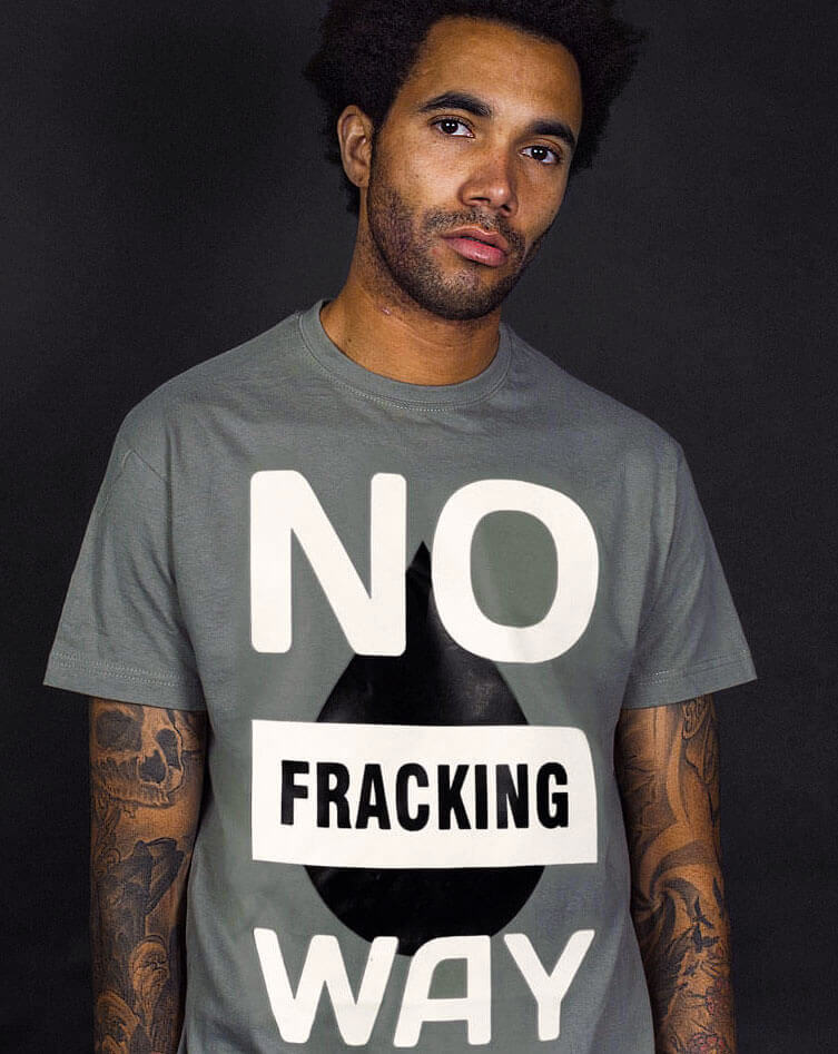 no fracking way t-shirt frack off slogan