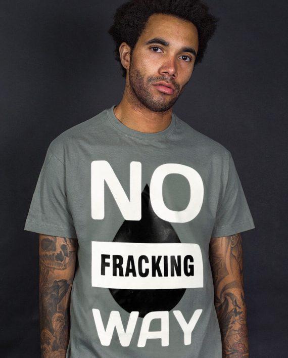 no-fracking-way-t-shirt-political-slogan