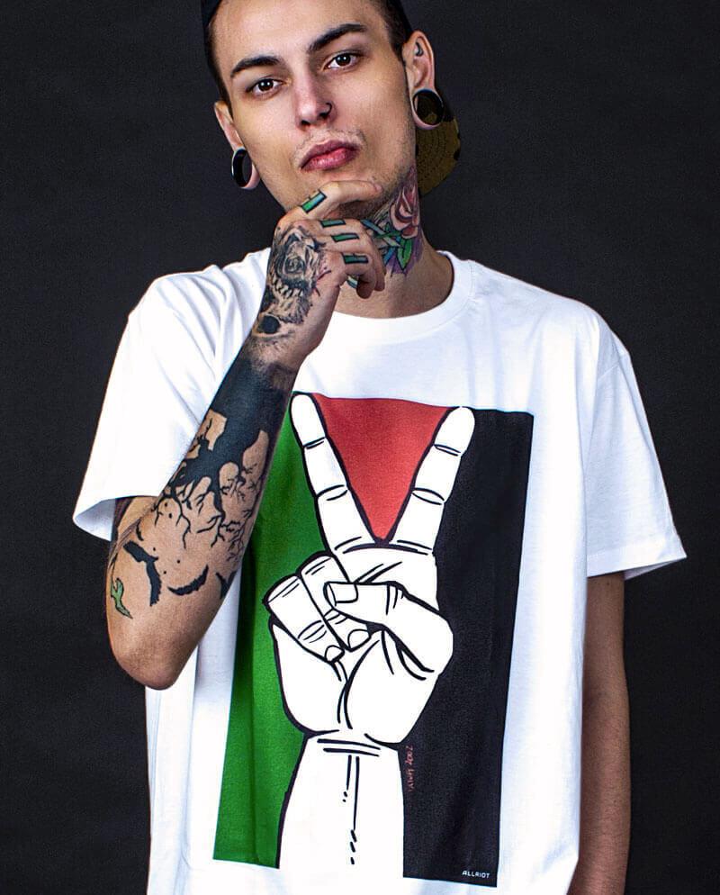 peace for palestine t-shirt free gaza merch