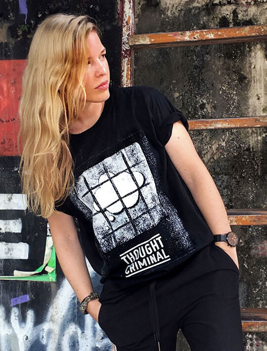 thought criminal t-shirt 1984