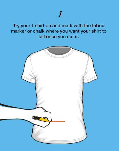 t-shirt vutting no sew tutorial customisation