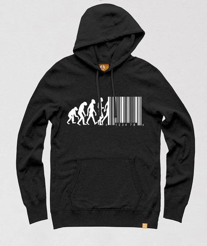 6966ca660 Barcode T-shirt - March of Progress Funny Evolution Shirts | ALLRIOT