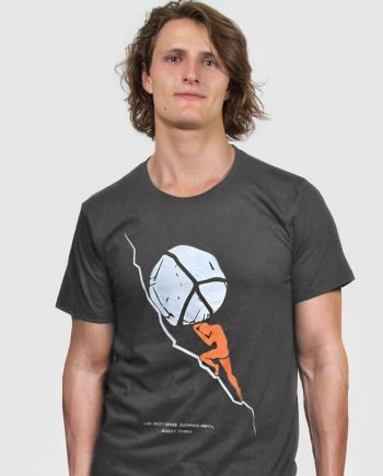 sysyphus t-shirt with Albert Camus quote