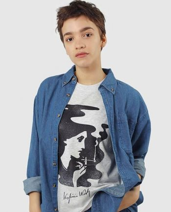 shop virgina woolf feminist t-shirt