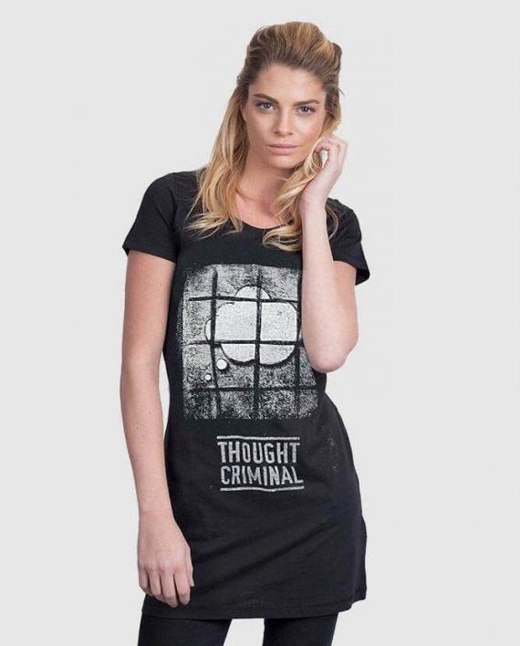 T-SHIRT-DRESS-thought-criminal-1984