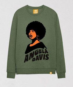 angela-davis-khaki-crewneck-sweatshirt