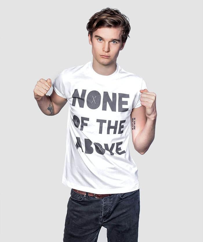 None of the Above T-shirt cool