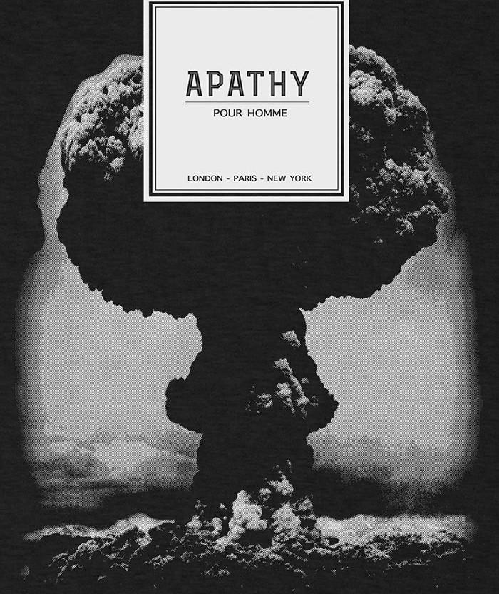 Apathy Pour Homme T-shirt atomic bomb