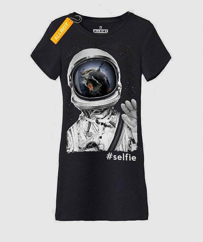 black-printed-T-SHIRT-DRESS-uk-funny-selfie