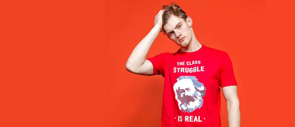 karl marx funny leftist t-shirt