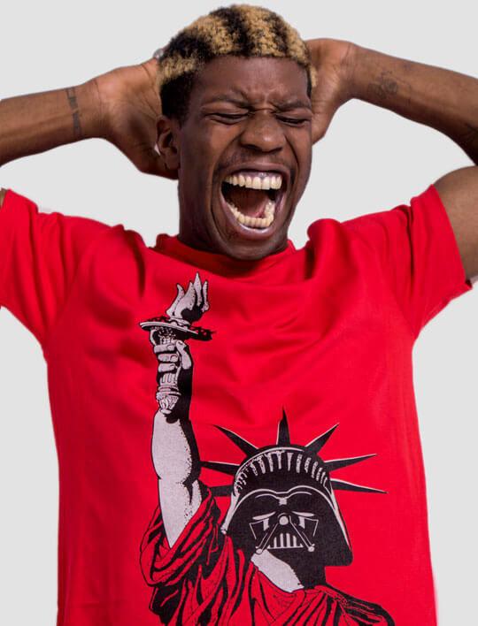 dark side star wars political tshirt