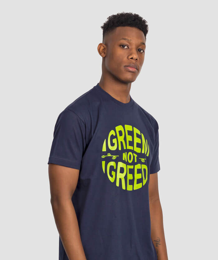 eco-pro-environment-green-not-greed-party-tshirt
