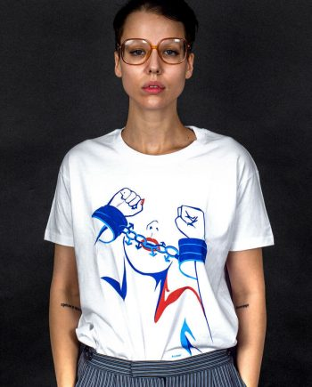 feminist tee chains of pariarchy t-shirt