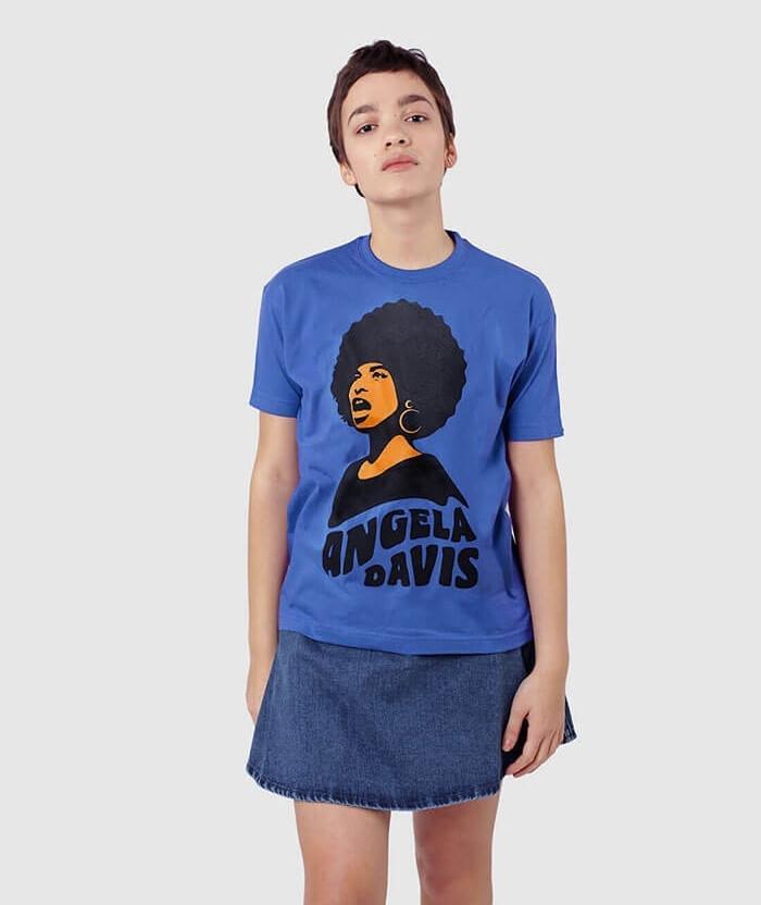 free-angela-davis-70s-tshirt-blue-black-rights-activist-t-shirt-for-men-women