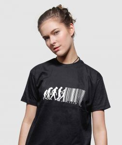 free-evolution-t-shirt-uk-cool-banksy-shirts-uk