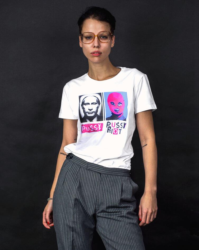 free pussy riot tshirt merch
