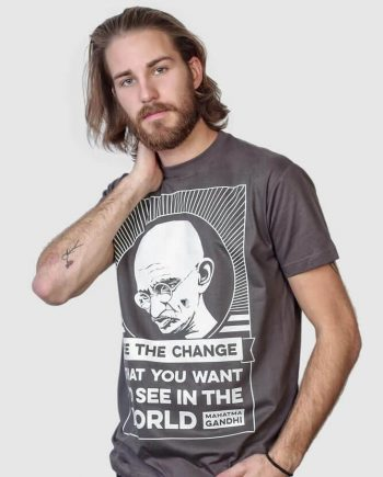 gandhi t-shirt funny graphic