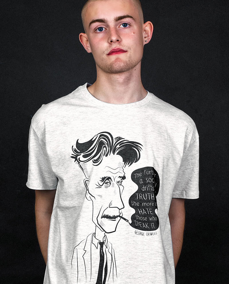 george orwell t-shirt ingsoc thought crime