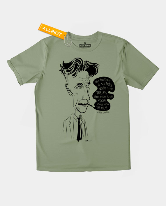 George Orwell T Shirt 1984 Shirts By Allriot