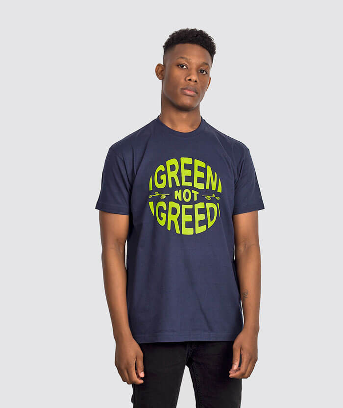 green-not-greed-party-tshirt