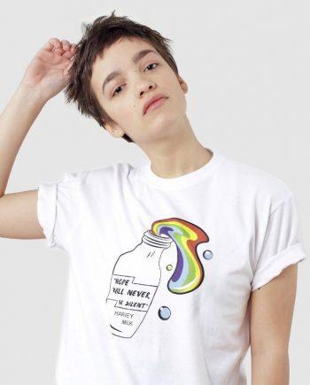 Harvey Milk T-shirt hope speech
