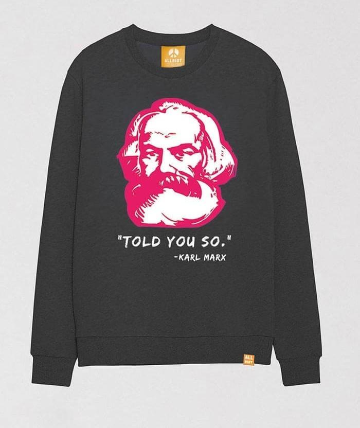 karl-marx-t-shirt-grey-marl-sweater-pullover-uk