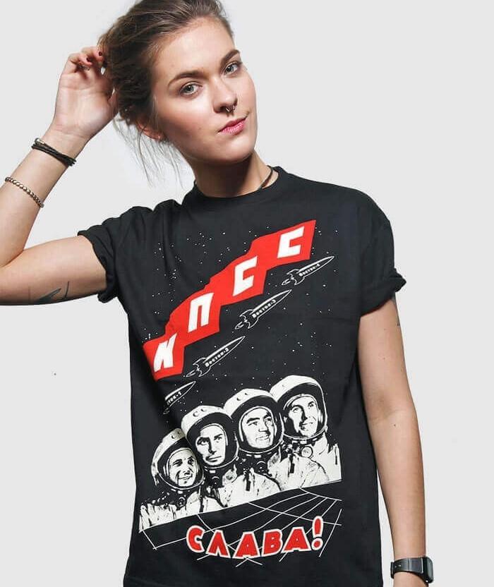 soviet t-shirt Communist Party graphic