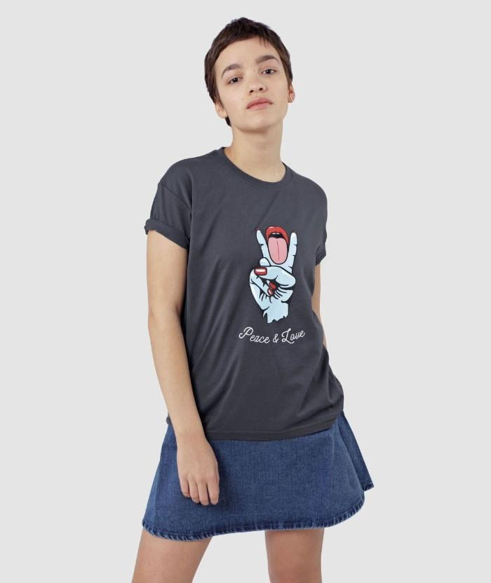 make love Peace and Love T-shirt