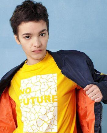 no future graphic t-shirt