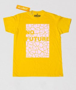 no-future-yellow-political-earth-day-march-t-shirt