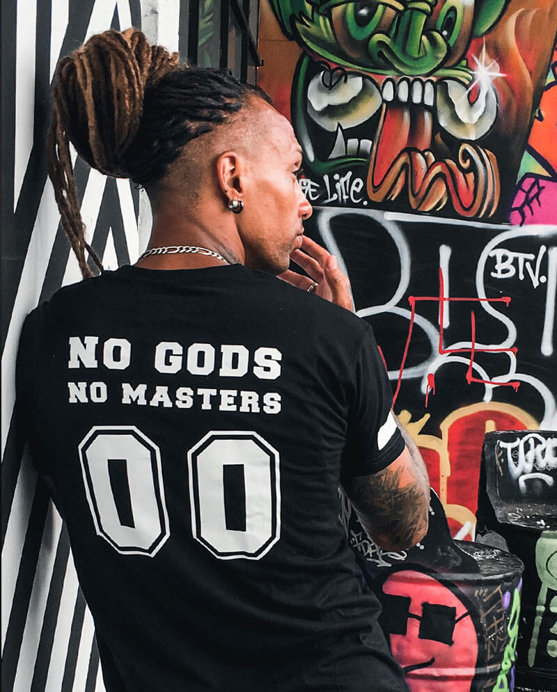 no gods no masters t-shirt anarchy