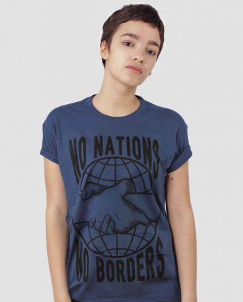 no nations no borders tshirt