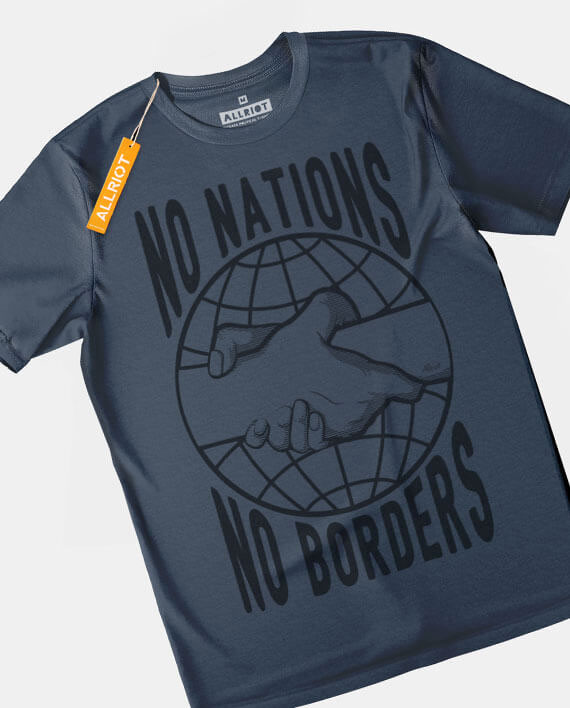 no nations refugees are welcome t-shirt