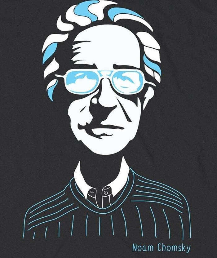 Noam Chomsky Tshirt buy online