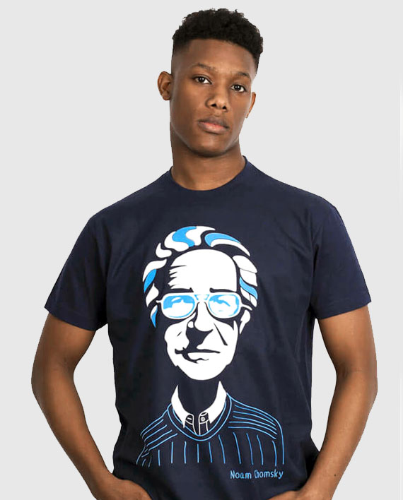 6efd606e Noam Chomsky T-shirt | ALLRIOT Kickass Political T-shirts