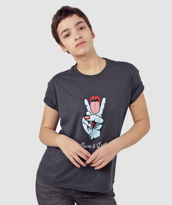 Peace and Love T-shirt offensive and funny