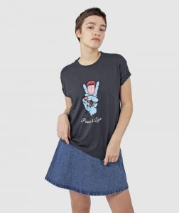 peace-and-love-gender-neutral-tshirt