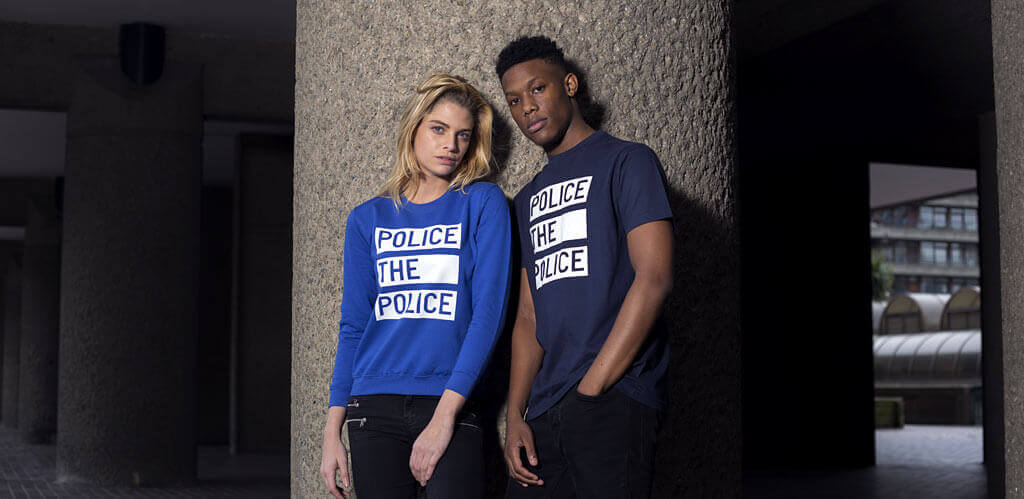 police the police t-shirt and sweatshirt