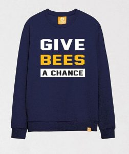save-bees-chance-navy-sweatshirt-with-cool-funny-slogan_1