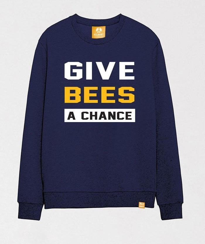 Save The Bees T Shirt Give Bees A Chance Allriot