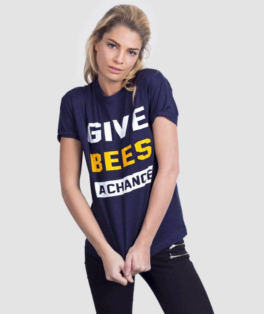 save the bees t-shirt funny