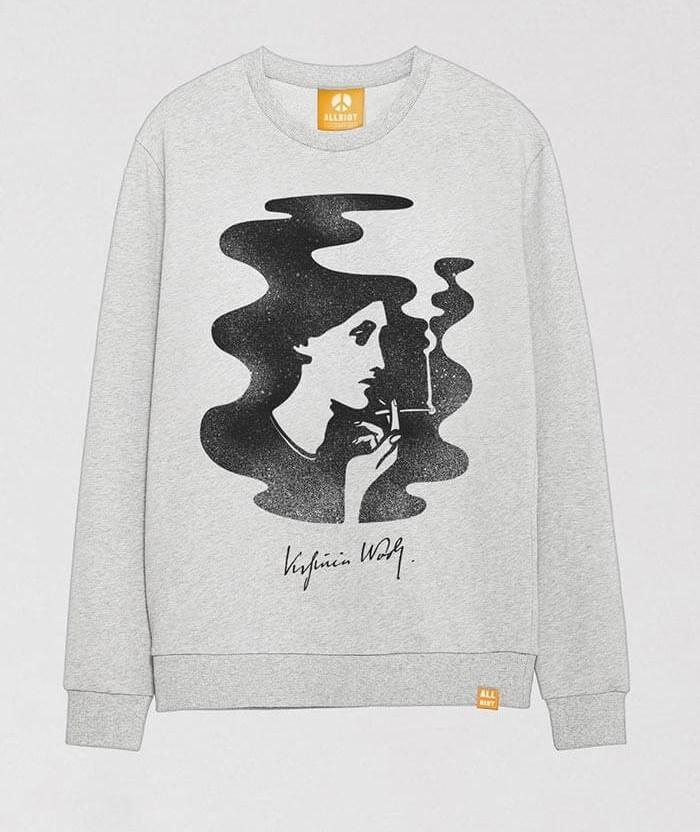 virginia-woolf-grey-melange-graphic-sweatshirt-ash