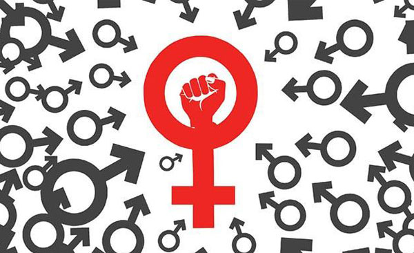 womens rights fist symbol