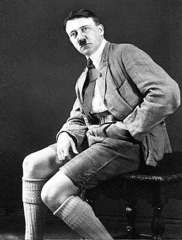 hitler in shorts anti nazi funny