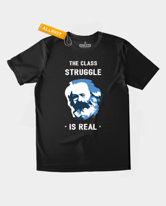class struggle karl marx t-shirt
