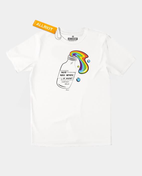 harvey milk t-shirt lgbt