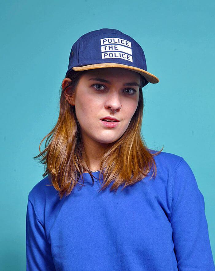 police-the-police snapback 5 panel cap hat
