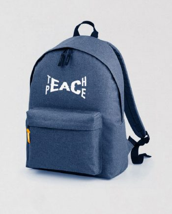 teach peace backpack streetwear uk