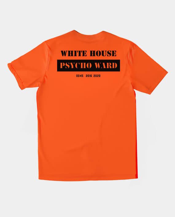 white house psych ward anti trump t-shirt